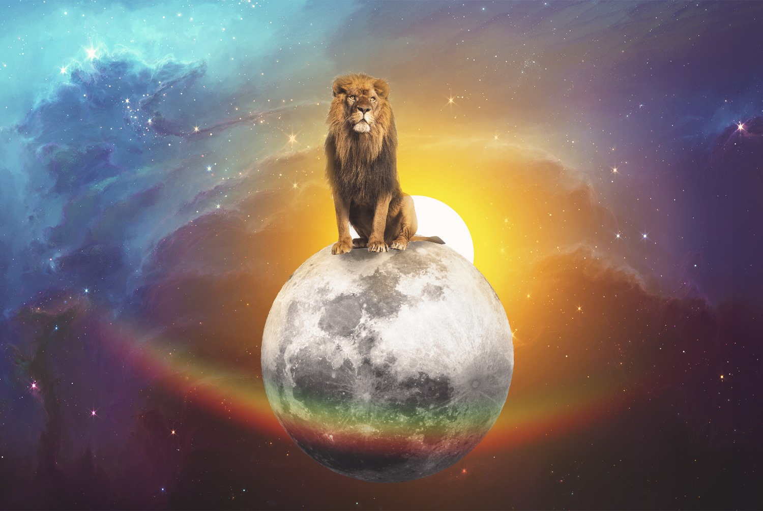 New Moon in Leo Sign