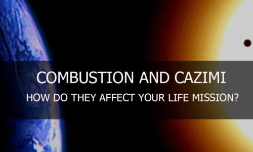 Sun – Combustion, and Cazimi