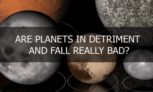 Planets in Detriment